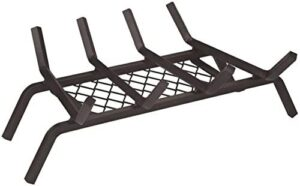 Rocky Mountain Goods Fireplace Grate with Ember Retainer